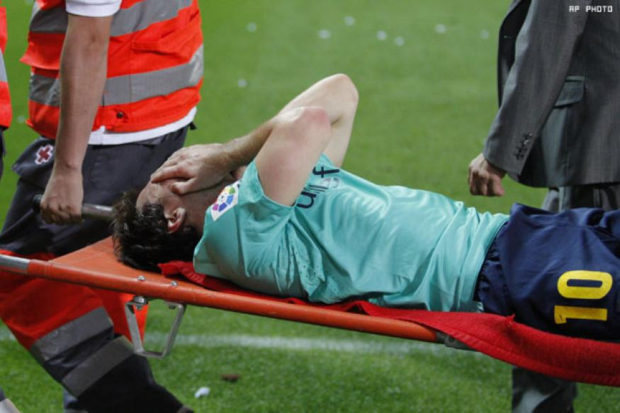 Bercelona wait on Messi injury ahead of Betis match-up