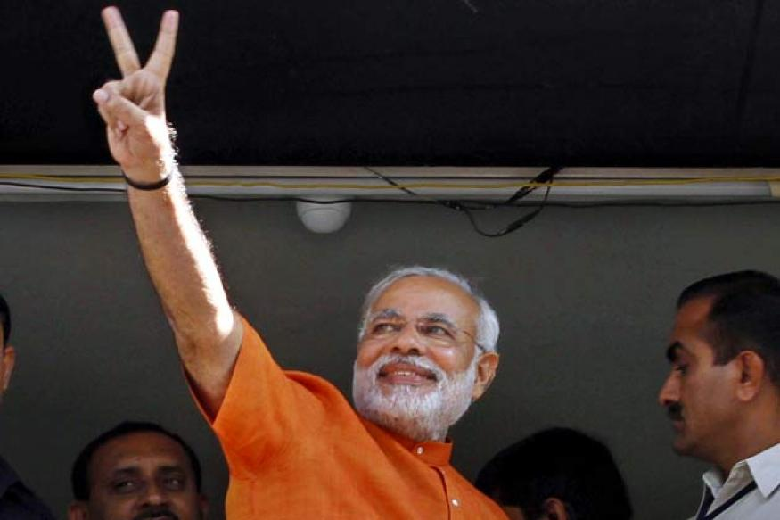 Gujarat post-poll survey: Narendra Modi-led BJP set to win 129-141 seats