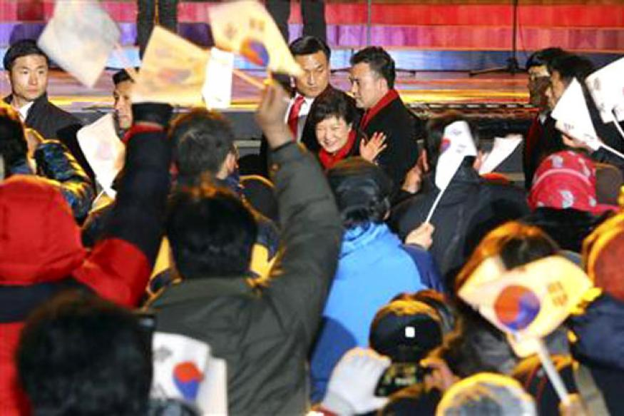 South Korea: President Park talks tough after poll win