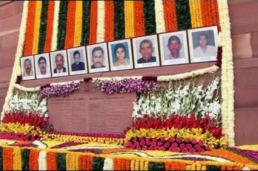 2001 Parliament attack: MPs pay homage to martyrs