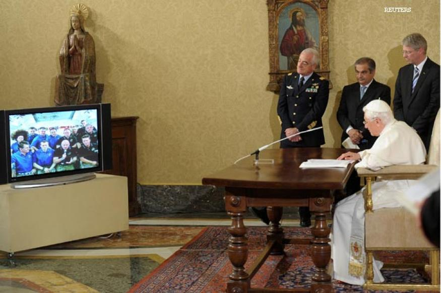 Pope's Twitter handle @Pontifex; will be Q&A