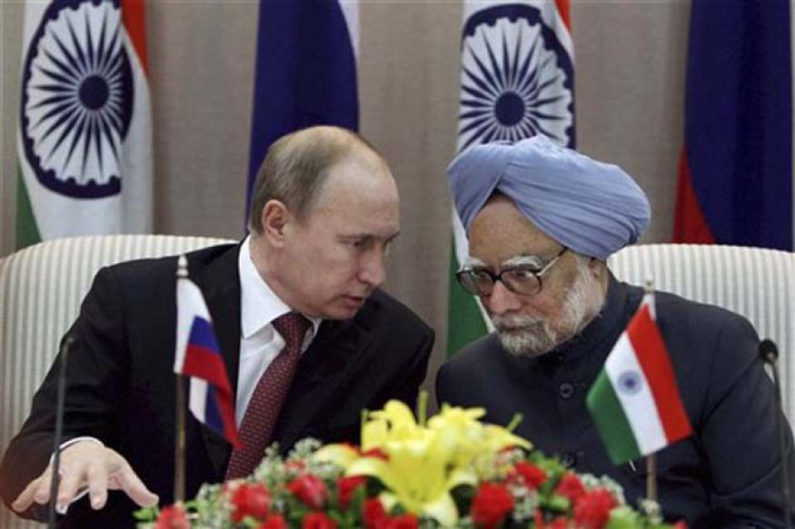 India seals defence deal with Russia
