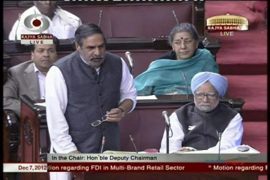 UPA wins FDI vote in Rajya Sabha with 123 MPs' support