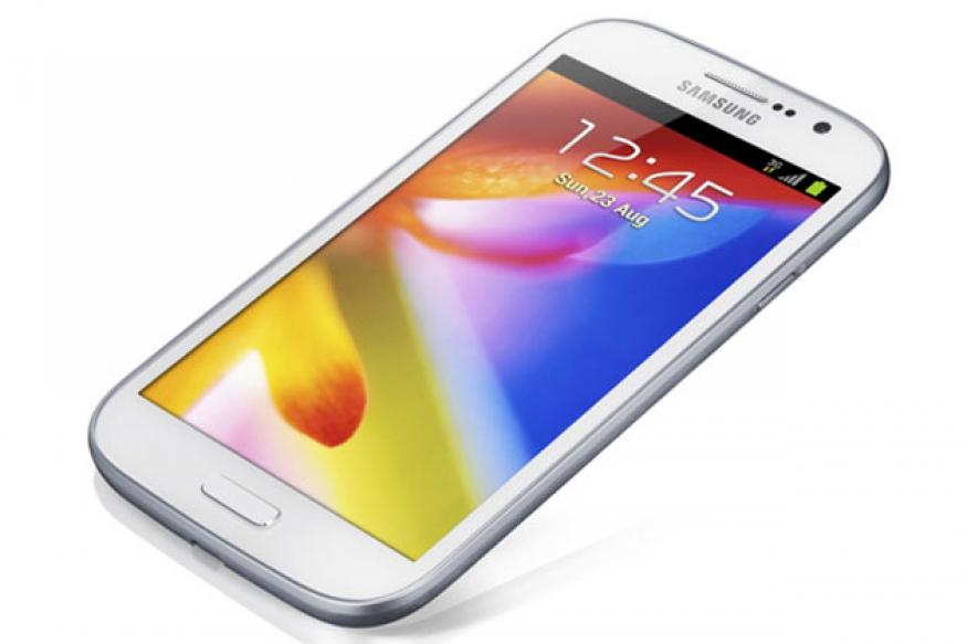 Samsung unveils the Galaxy Grand