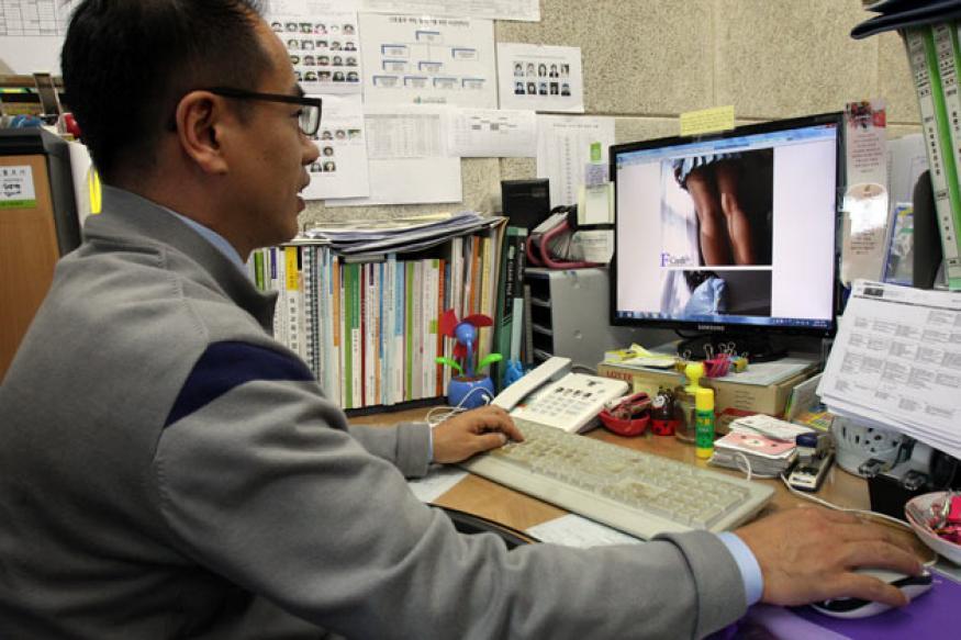 South Korea battles against pornography