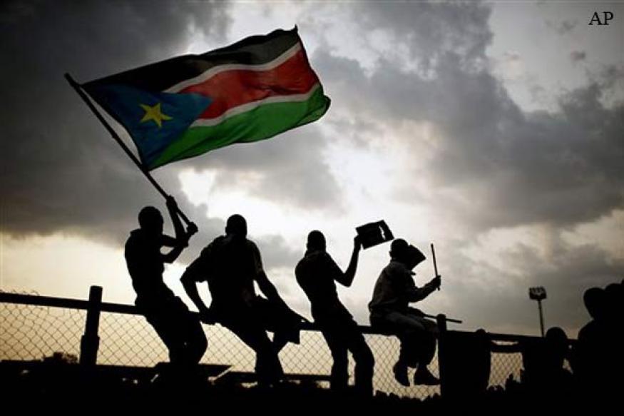 UN helicopter shot down in South Sudan, 4 dead