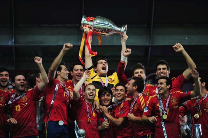 Spain top FIFA rankings; Brazil sink to 18th