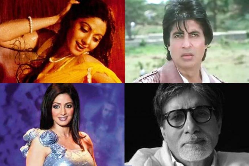 Amitabh, Sridevi voted most admired actors