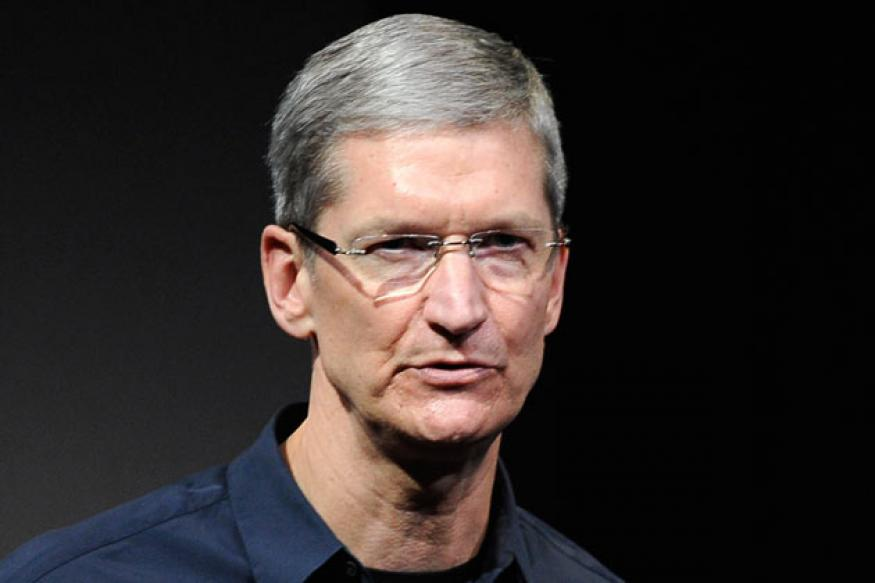 Apple CEO Tim Cook's 2012 pay package drops 99 per cent