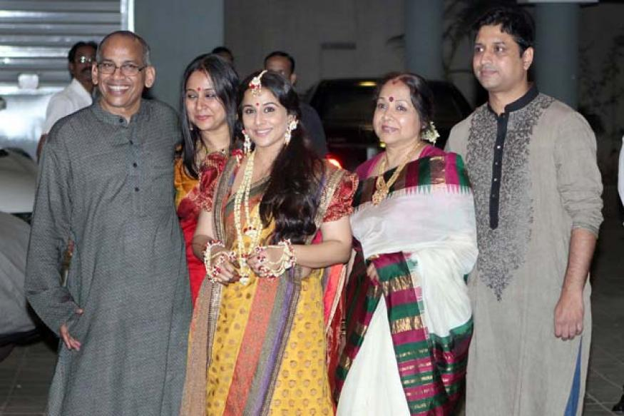 Vidya Balan weds Siddharth in hour-long ceremony