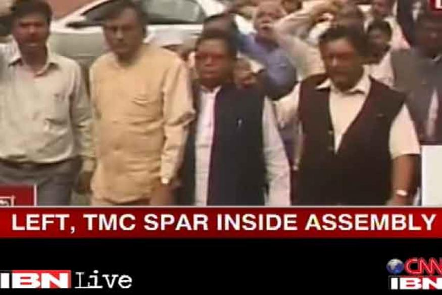 TMC, Left MLAs come to blows inside WB Assembly
