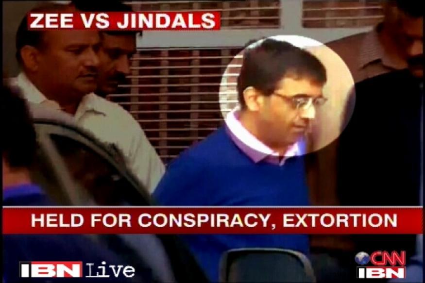 Jindal extortion case: Police seek custody of Zee editors