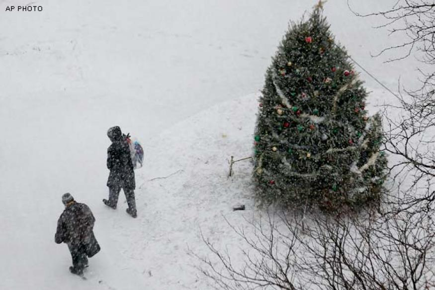 Ukraine: Boy falls 8 storeys, survives due to snow