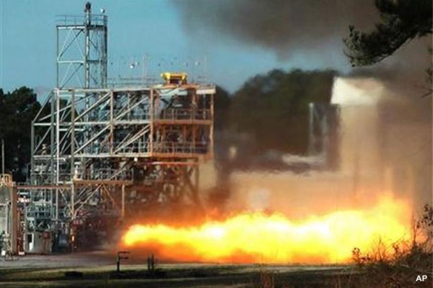 NASA testing vintage engine from Apollo 11 rocket