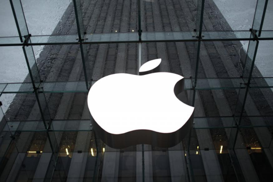 Apple shares fell by as much as 12 per cent