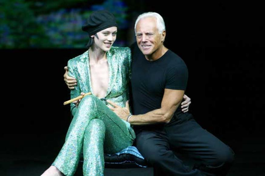 Giorgio Armani: Women need fashion to feel good