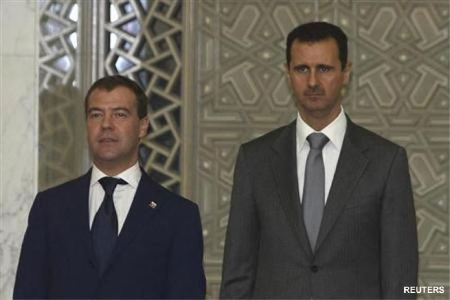 Russia says Syria's Assad's prospects fading