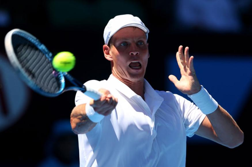 Berdych advances to 3rd round at Australian Open
