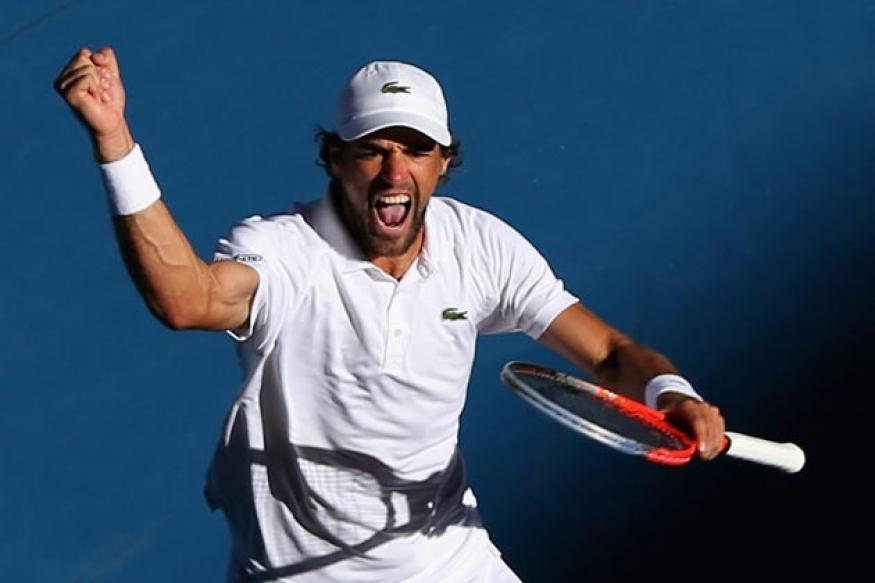 Frenchman Chardy stuns sixth-seed del Potro