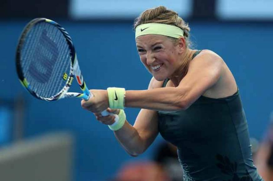 Azarenka storms into Brisbane semi-finals