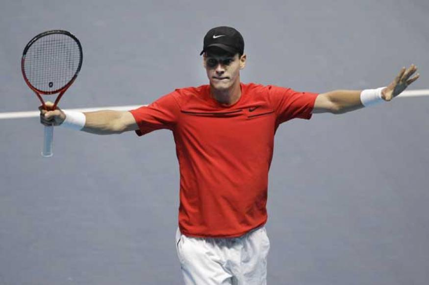 Top-seeded Berdych knocked out of Chennai Open