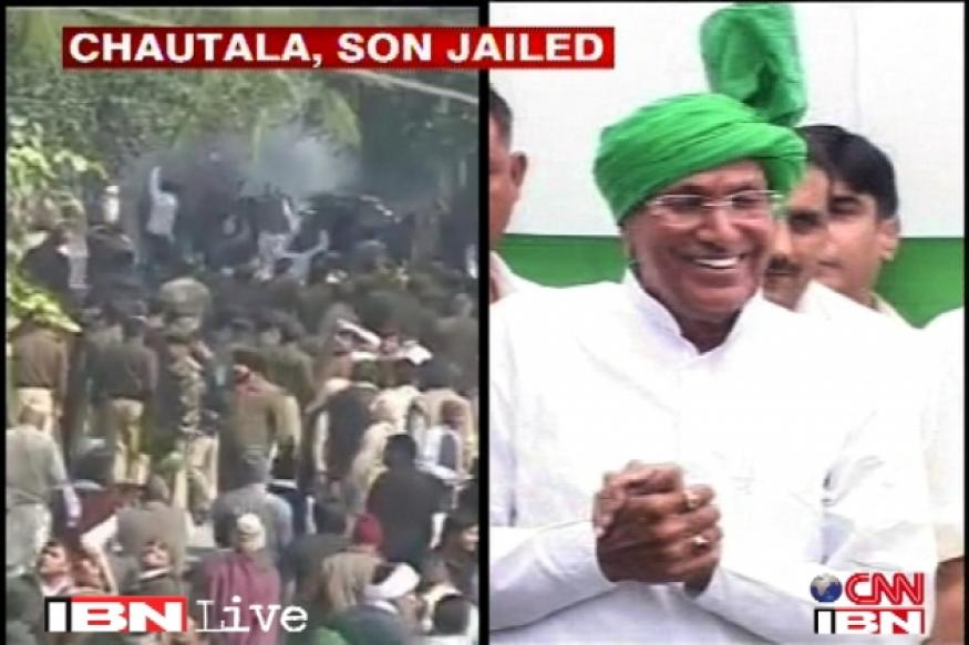 JBT scam: Chautala, son could be barred from contesting polls
