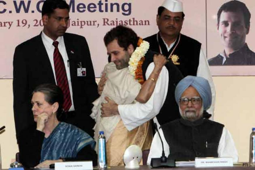 Rahul's elevation a historic step: Congress