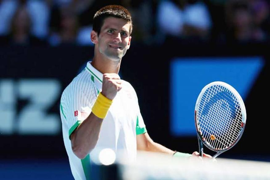 World No 1 Djokovic begins historic quest with straight-sets win