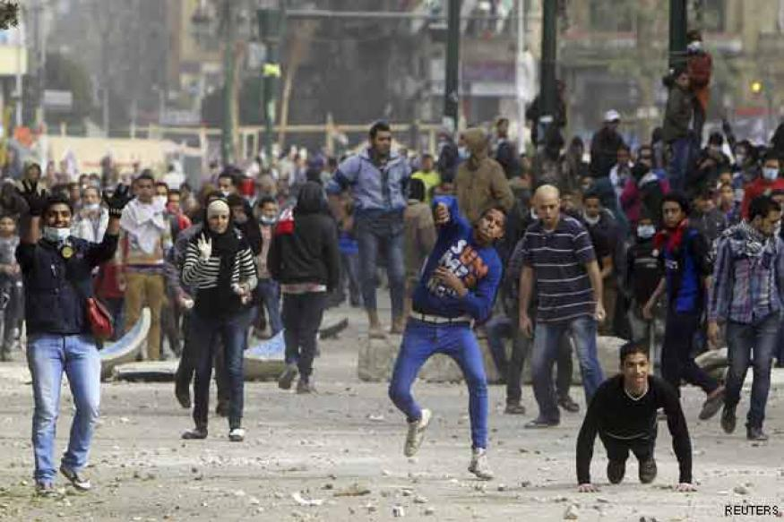 Death toll in Egypt clashes climbs to 36