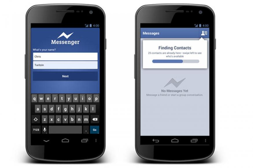Facebook adds voice messaging to Messenger app