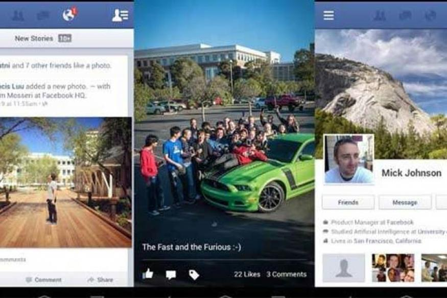 Facebook for Android update brings voice messages