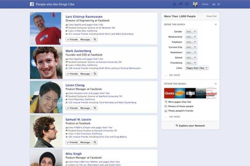 Facebook's new Graph Search feature: All that you need to know