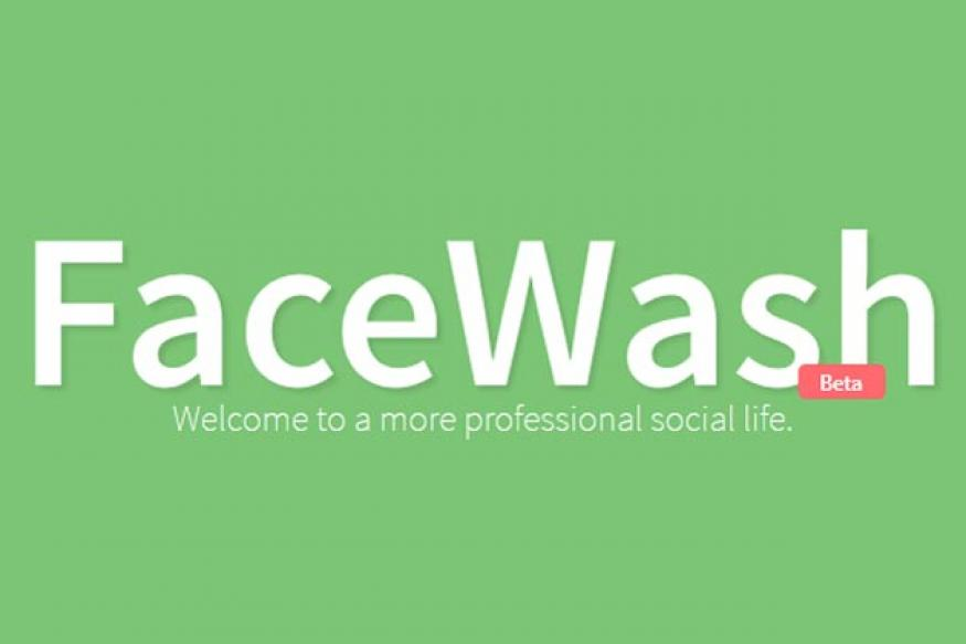 FaceWash cleans up vulgar and embarrassing content from your FB profile