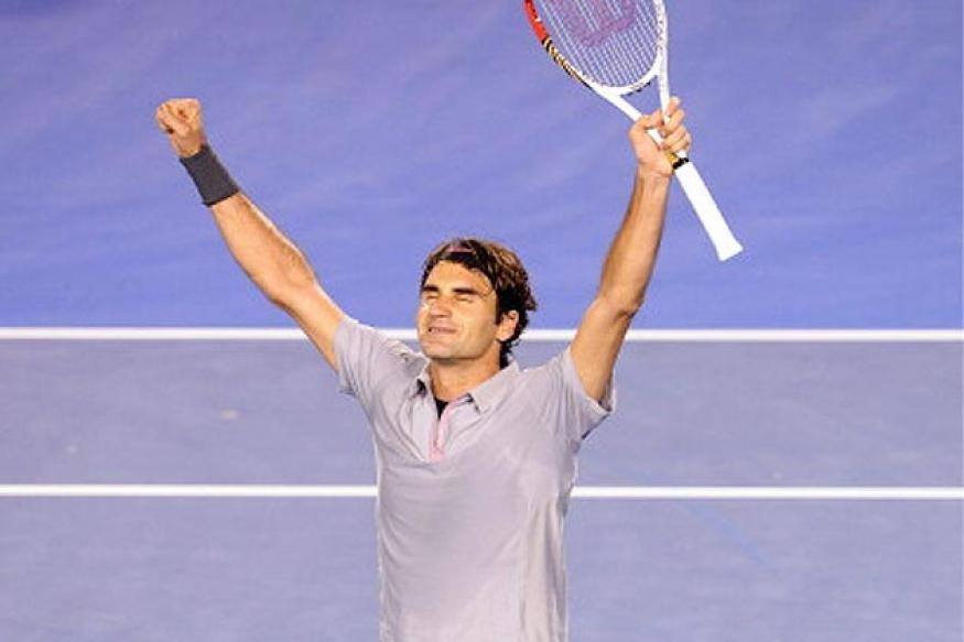 Federer outlasts Tsonga to reach Aus Open semis