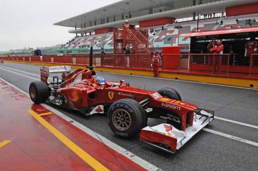 Ferrari start work on new F1 factory base