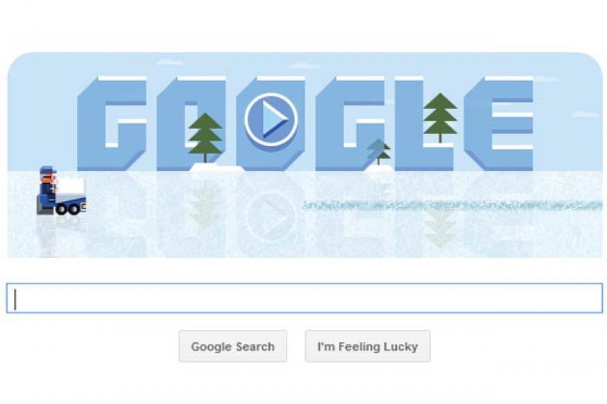 Google marks Frank Zamboni's 112th birthday with a playable ice resurfacing doodle