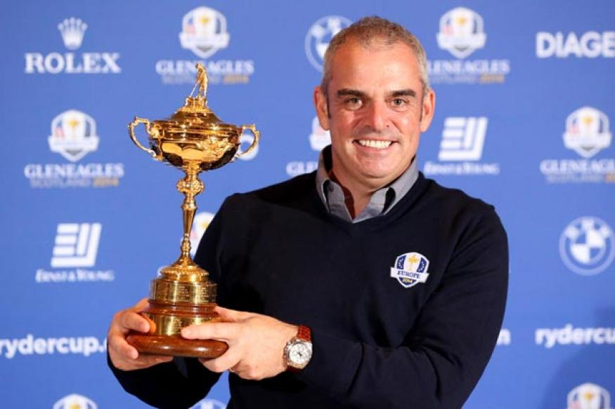 New Ryder Cup captain McGinley to honour Seve and Scotland