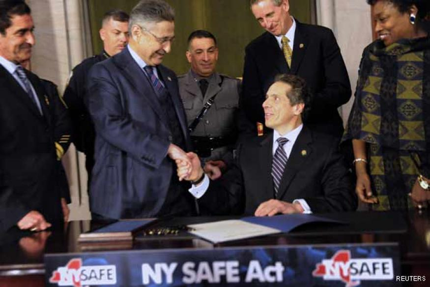 New York enacts toughest gun control laws