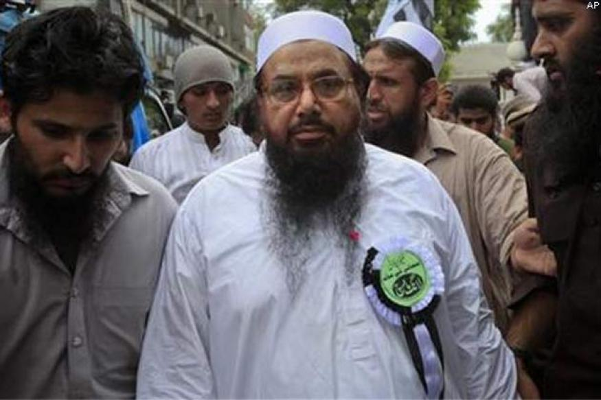 Hafiz Saeed 'challenges' Indian govt to prove he was near LoC
