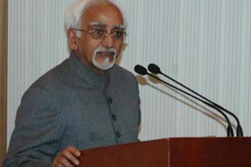 India should talk to Pak but with dignity: Ansari