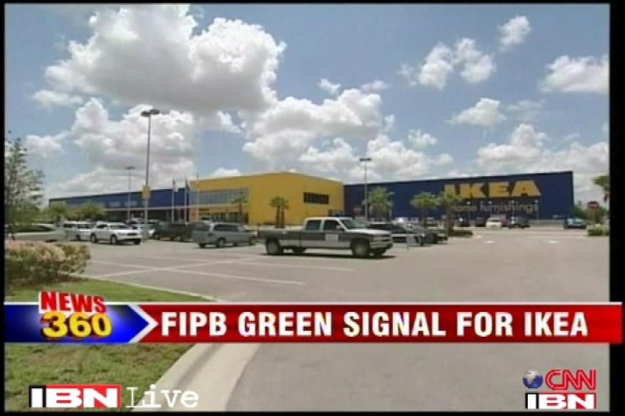 IKEA's Rs 10,000 crore investment gets FIPB nod