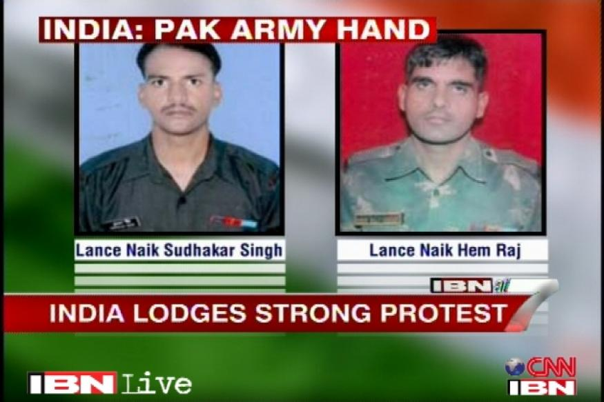 India protests soldiers' killing, Pak calls for third party probe
