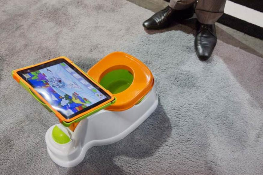 iPotty to electronic fork: The weirdest gadgets at CES 2013