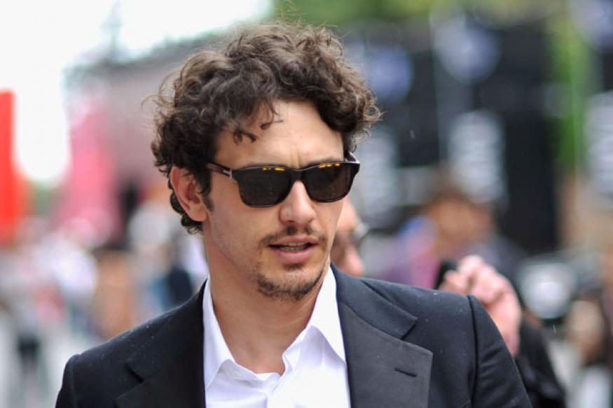 James Franco:  Wouldn't mind having sex on screen
