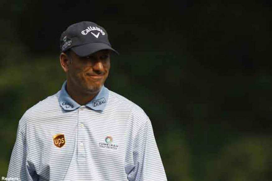 Jeev tied 4th after Volvo Golf Champions round one
