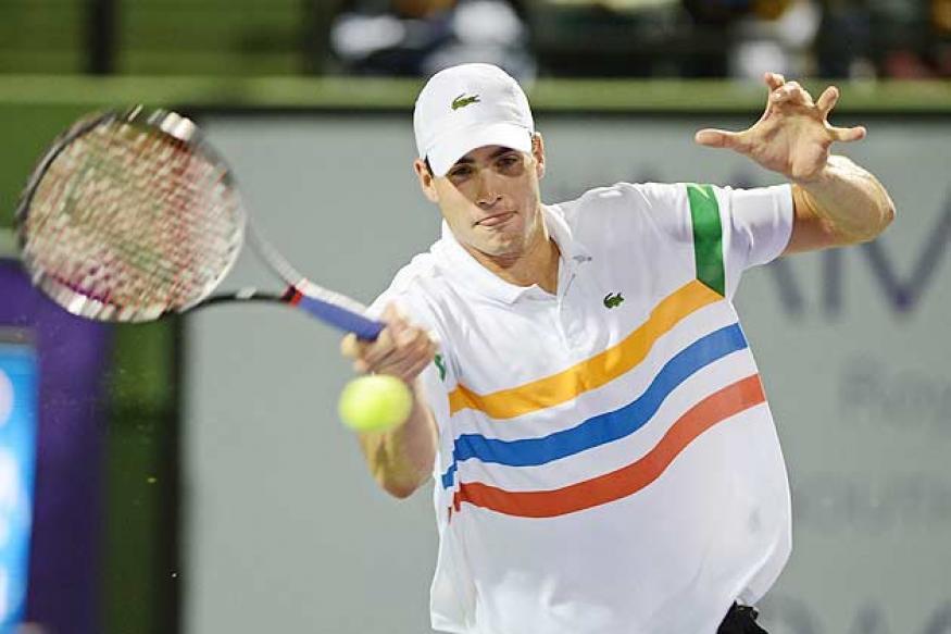 John Isner loses to Ryan Harrison in Sydney