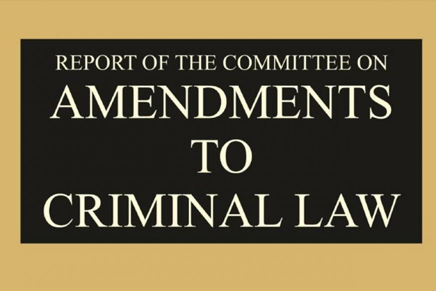 Full text: Justice Verma Committee Report on Amendments to Criminal Law