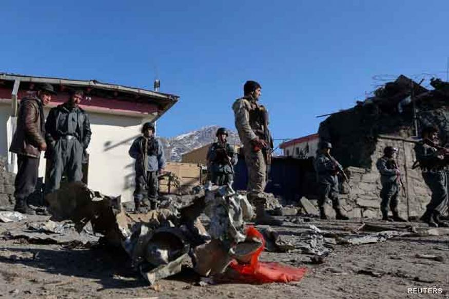 Third bomb attack in 24 hours kills eight Afghan police