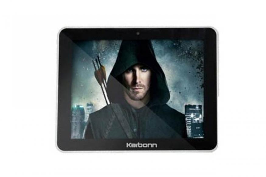 Karbonn launches 8-inch Android tablet for Rs 7,025