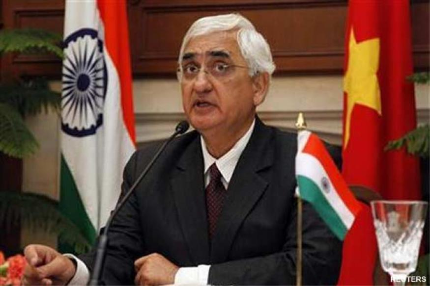 Situation on LoC a lot better: Salman Khurshid